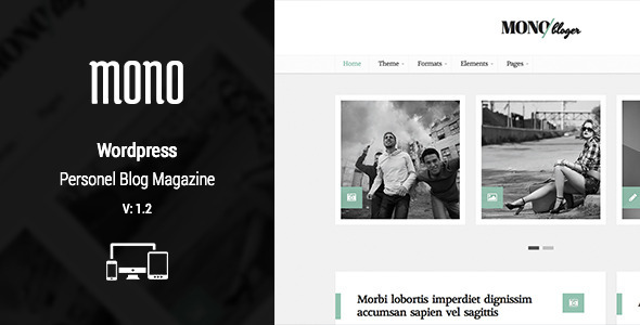 Nillmono – Multipurpose Personal WordPress Blog