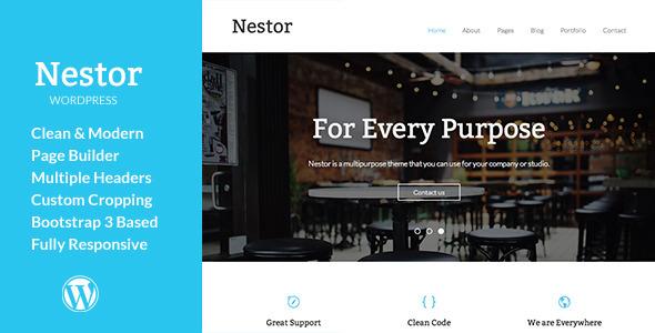 Nestor – Responsive WordPress Theme