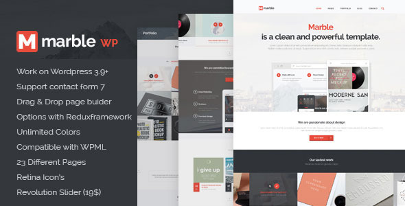 Marble – Multipurpose WP Theme