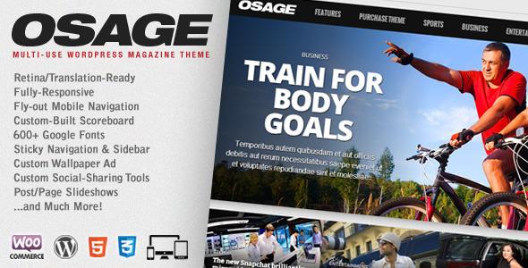 Osage – Multi-Use WordPress Magazine Theme