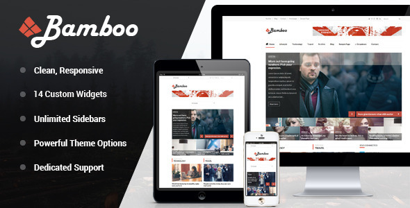 Bamboo – Responsive WordPress Magazine Theme