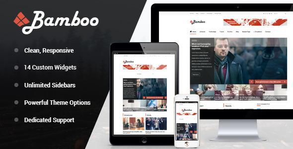 Bamboo – Responsive WordPress Magazine Theme