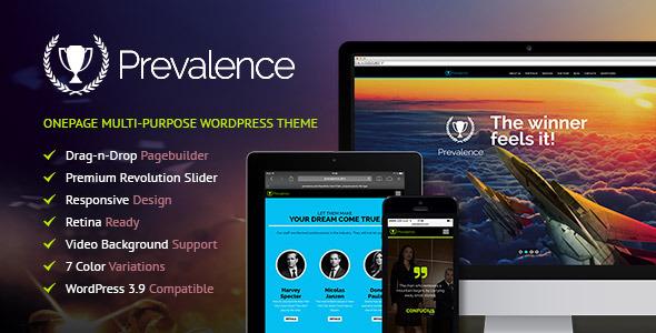 Prevalence – Onepage Multi-Purpose WP Theme