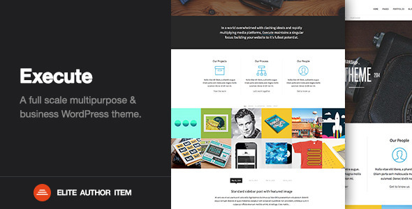 Execute – Creative Multi-Purpose WordPress Theme