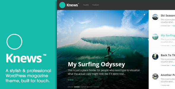 Knews – Modern Professional WordPress Magazine