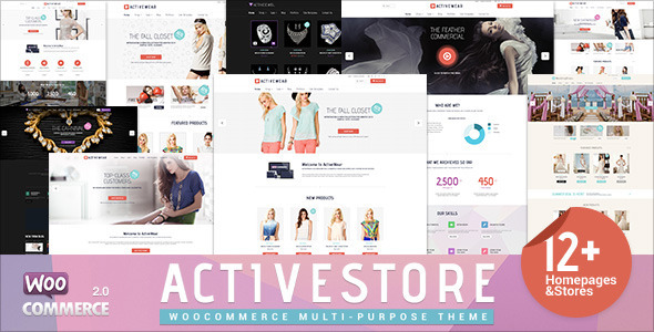 ActiveWear WooCommerce Responsive WordPress Theme