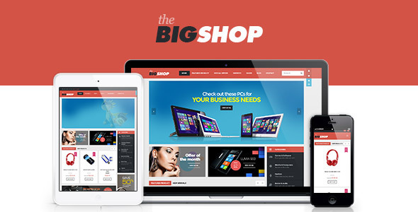 BigShop WooCommerce Responsive WordPress Theme