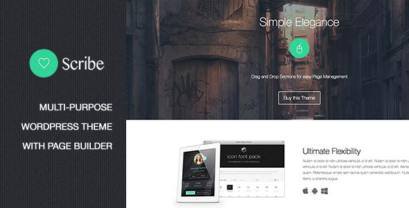 Scribe – Multi-Purpose Technology Theme