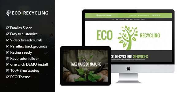 EcoRecycling – a Multipurpose WordPress Theme
