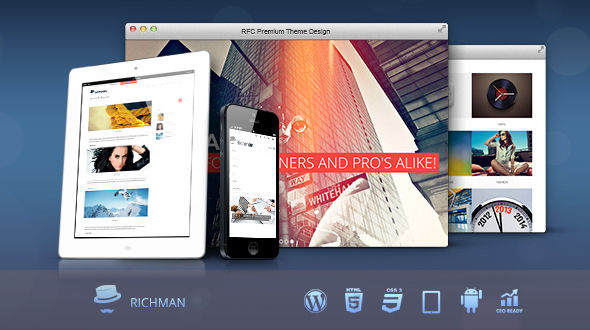 RICHMAN – Responsive Multi-Purpose Theme
