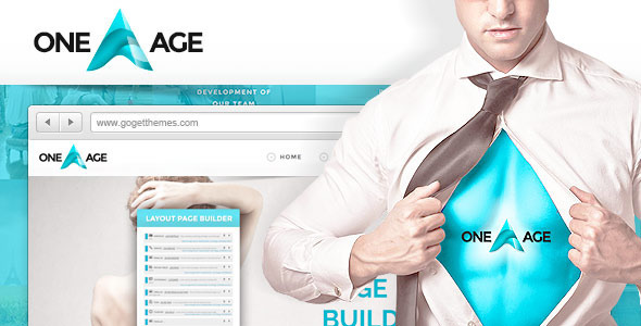 One Age – One page WordPress Theme