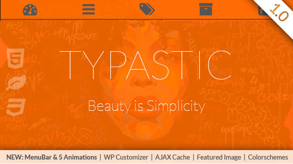 Typastic for WordPress
