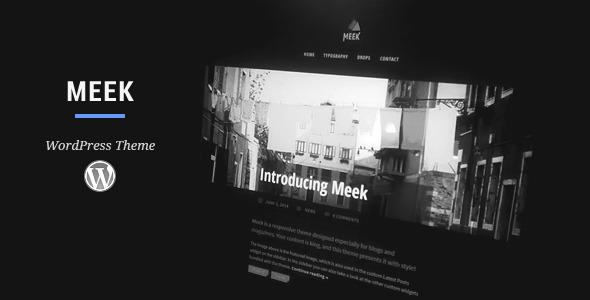 Meek WordPress Theme