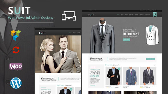 Suit – WooCommerce Responsive Theme