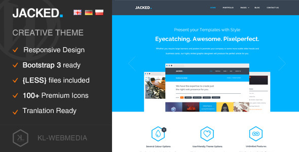 Jacked – Creative WordPress Theme