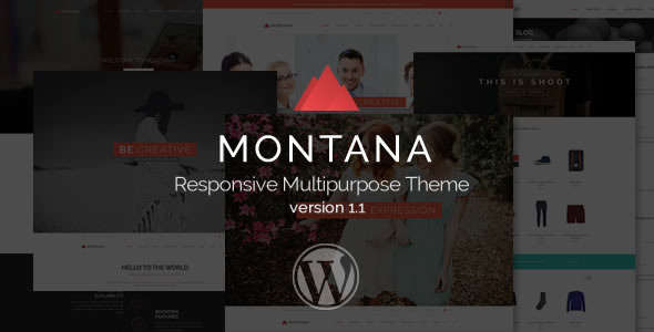 Montana – Responsive Multipurpose WordPress Theme