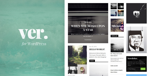 Versatile: Magazine Theme Focused on Content