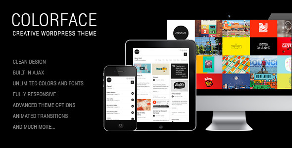 Colorface – Creative WordPress Theme