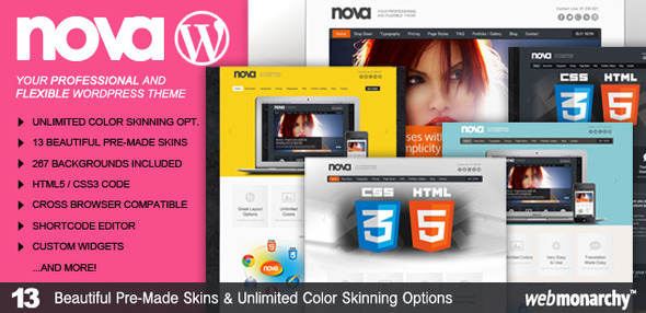 Nova – Professional & Flexible WordPress Theme