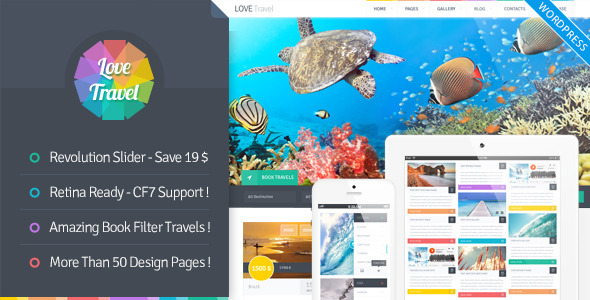 Love Travel – Creative Travel Agency WordPress