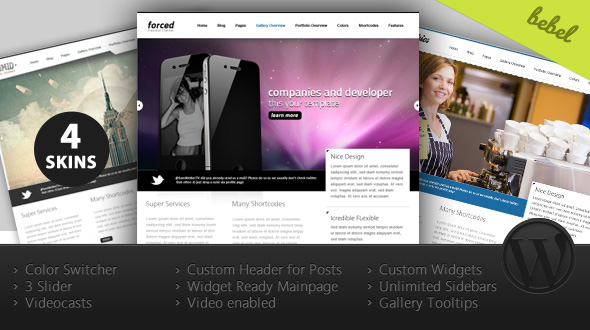 Force: Multipurpose WordPress Theme