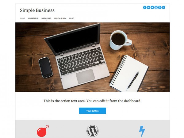 Simple Business WP