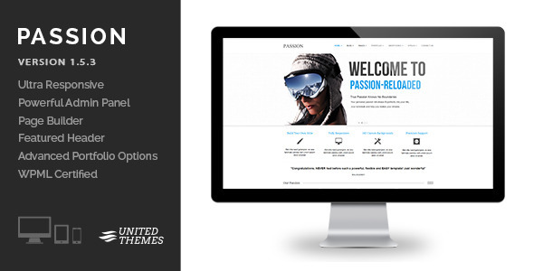 Passion Reloaded – Responsive WordPress Theme
