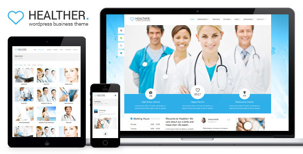 Healther – Medical & Health WordPress Theme