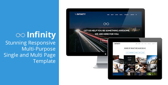 Infinity – Flexible Responsive Theme