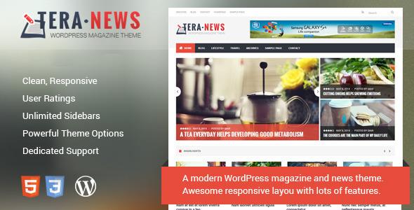 TeraNews – Responsive WordPress Magazine Theme