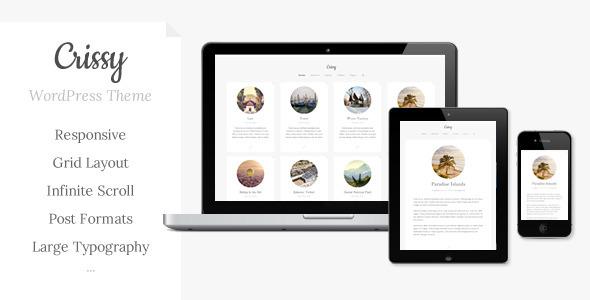 Crissy – Responsive WordPress Theme