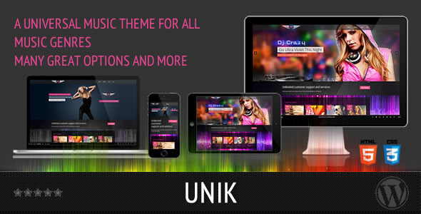 UNIK – Universal Music Theme