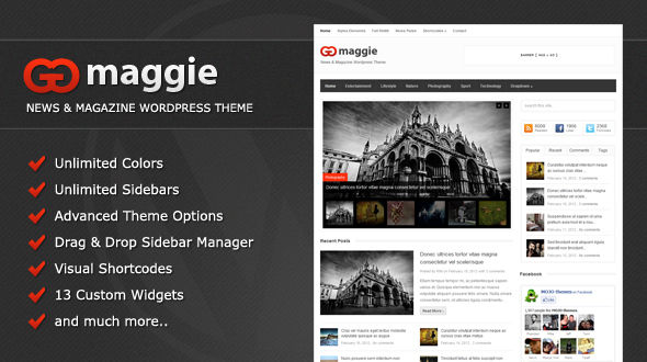 Maggie – News & Magazine WordPress Theme