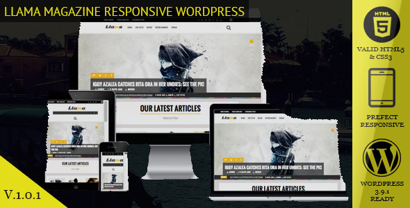 Llama: Magazine & News WordPress Theme