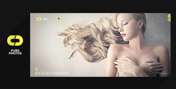 Pure Photo – Multi-Purpose Photography Theme