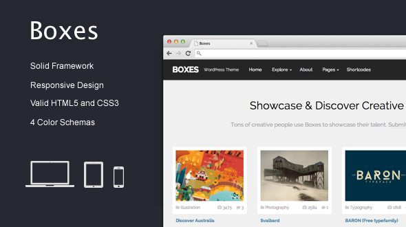 Boxes – WordPress Creative Portfolio Theme