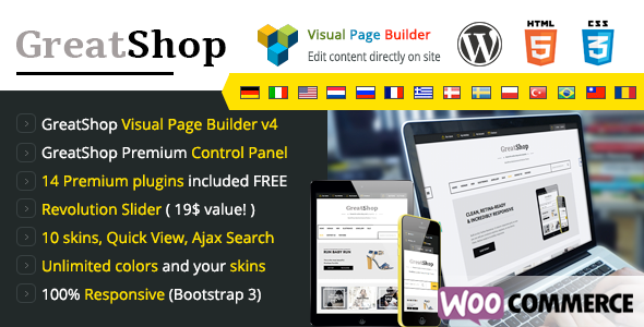 GreatShop – Premium WordPress WooCommerce theme