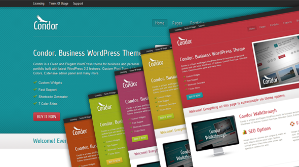 Condor – Business WordPress Theme
