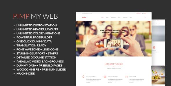 PIMP – Creative MultiPurpose Theme