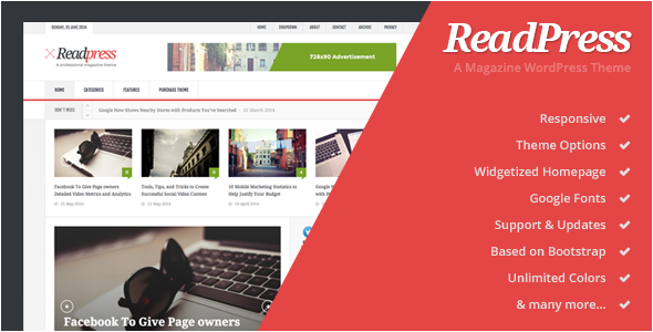 ReadPress – Magazine WordPress Theme