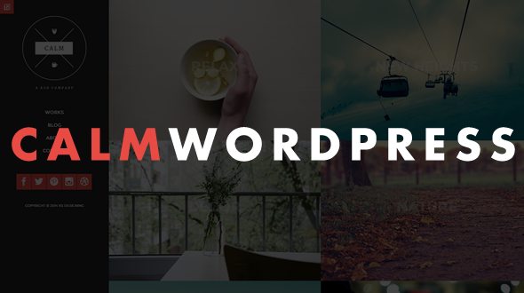 Calm – Responsive WordPress Blog & Portfolio Theme