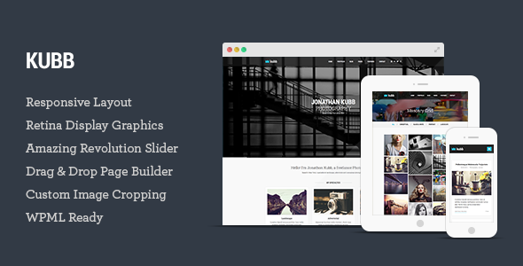 Kubb – Photography & Magazine WordPress Theme