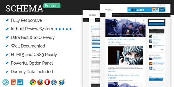 Schema – Fastest SEO WordPress Theme