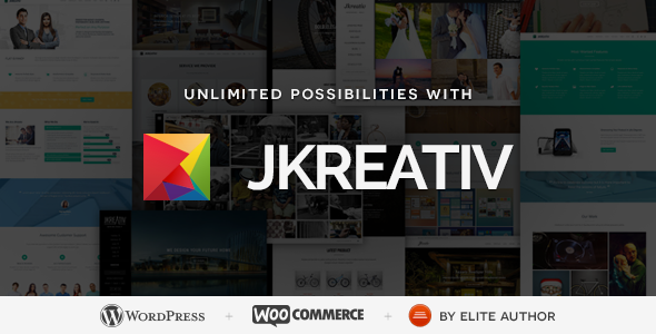 Jkreativ – Multilayer Parallax MultiPurpose Theme