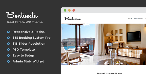 Bentuestu – Responsive Real Estate WordPress Theme