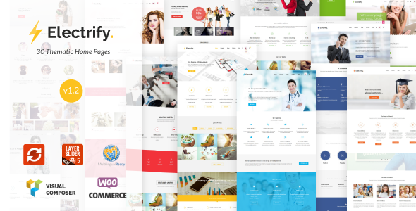 Electrify – Versatile Multipurpose WordPress Theme