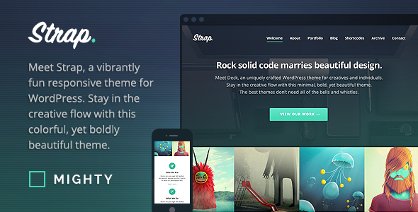 Strap – WordPress Theme