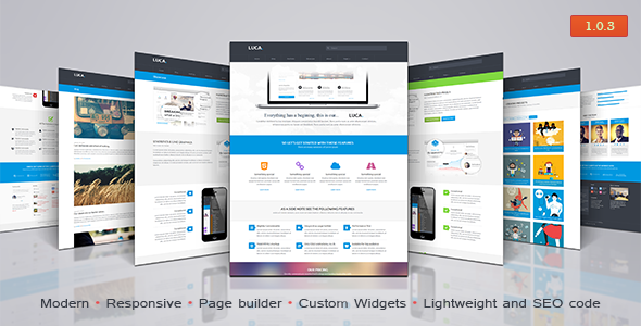 Luca – Premium WordPress Theme