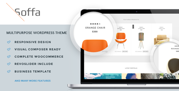 Soffa – Furniture & Bussiness WordPress Theme