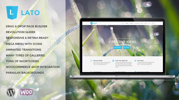 Lato – Creative Multi-Purpose WordPress Theme